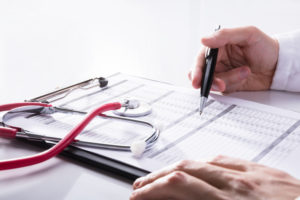 hospitalization checklist